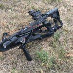 crossbow on ground